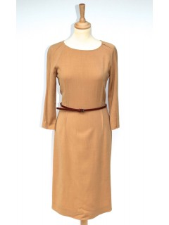 Robe Fendi beige marron taille 36