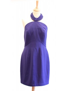 Robe Thierry Mugler bleue taille 38