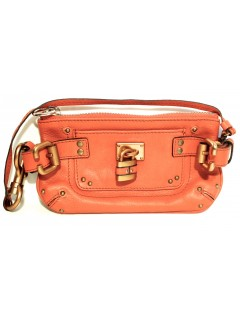 "Mini pochette Chloé ""paddington"" orange"