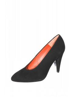 Escarpins Carven daim noir taille 38