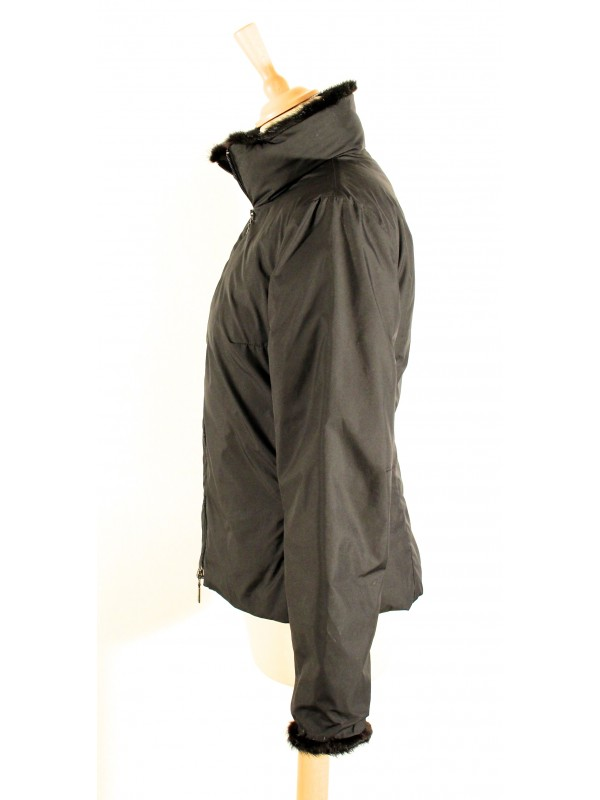 Secondemaindeluxe Moncler 3436 Noire Doudoune Taille Veste Légère q0PfwnY