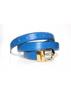 Ceinture bleue Louis Vuitton