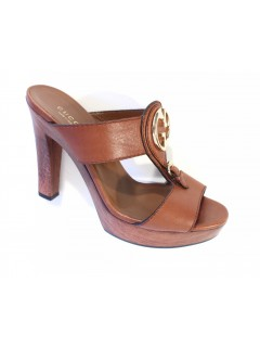 Sandales Gucci taille 37 cuir marron