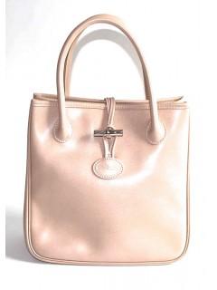 Sa Longchamp roseau rose pâle