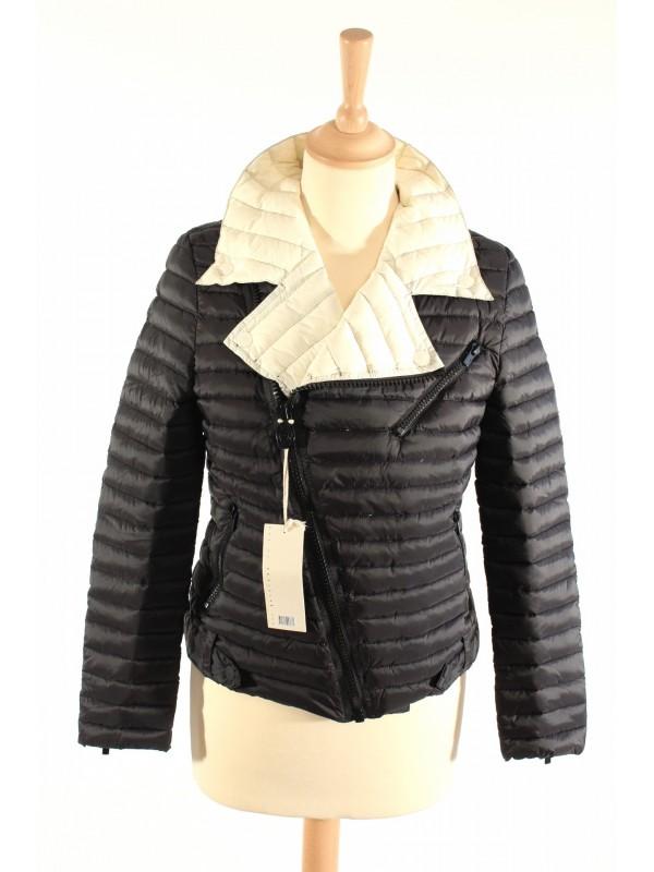 Doudoune Gertrude Taille 0 écru noir - SecondeMainDeLuxe bddac9c1a99