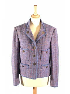 Veste CHANEL tweed taille 40