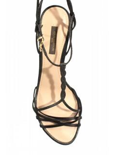Sandales Louis Vuitton noires taille 37