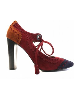 Escarpins Hermès daim taille 37