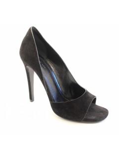 Escarpins Céline daim noir taille 37