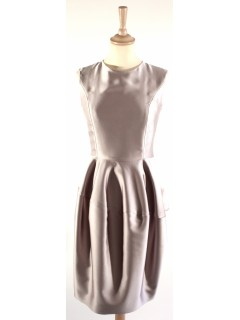 Robe YSL gris perle taille 36