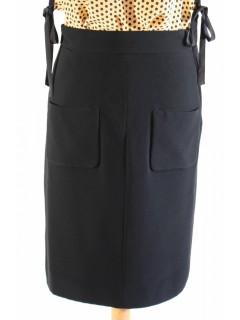 Jupe Louis Vuitton noire taille 36