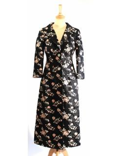 Manteau Dolce & Gabbana du soir fleurs taille 36