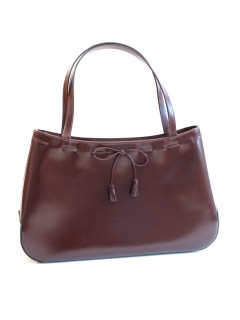 Sac Anya Hindmarch marron