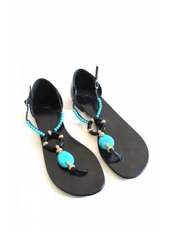 Sandales Giuseppe Zanotti turquoises  taille 37,5