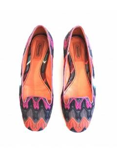 Slippers Missoni tissu taille 37,5