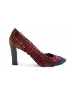 Escarpins Hermès daim taille 37,5