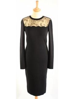 Robe Valentino noire taille M dentelle