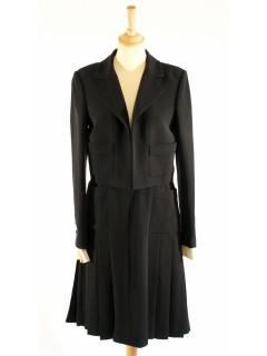 Veste ensemble Chanel noir taille 38/40