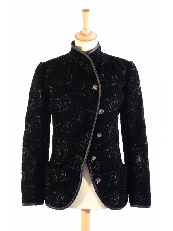 Veste Ungaro noire taille M - SecondeMainDeLuxe bcd40769a9b