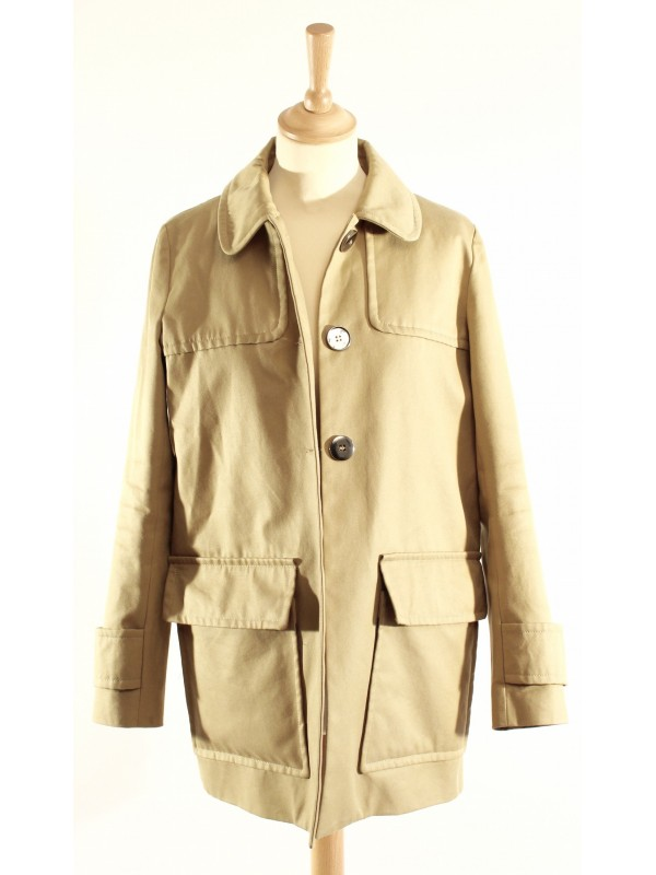 Veste trench Maje taille 36 - SecondeMainDeLuxe 300d28b10eb