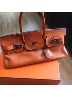 Sac Hermès orange  Birkin