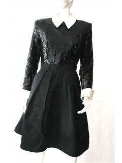 Robe Vintage Christian Dior, séquins (38)