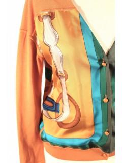 Gilet Hermès foulard taille 36