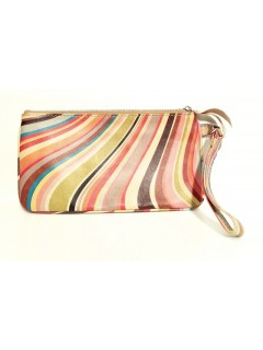 Pochette Paul Smith cuir swirl