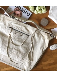 Sac city Balenciaga blanc