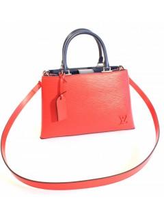 Sac Louis Vuitton rouge marine