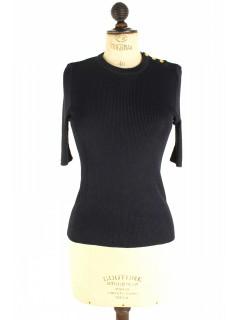 Top Hermès noir taille S