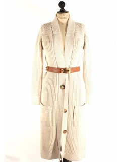 Gilet veste long Hermès taille 36/38