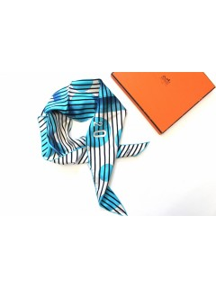 Foulard Hermès losange