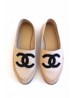 Espadrilles Chanel cuir taille 36
