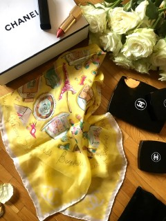 Foulard carré Chanel