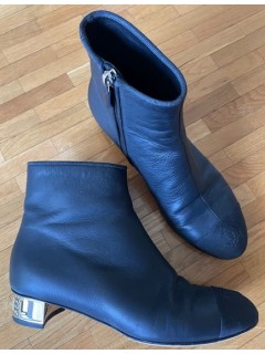 Bottines Chanel taille 36,5